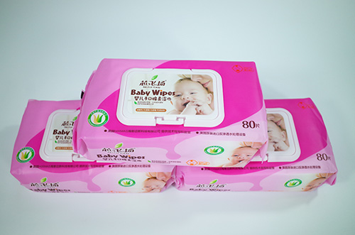 80片/包芯飞扬婴儿手口绵柔湿巾