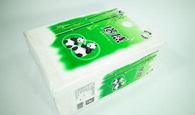 1.4斤芯飞扬倍感熊猫方巾纸