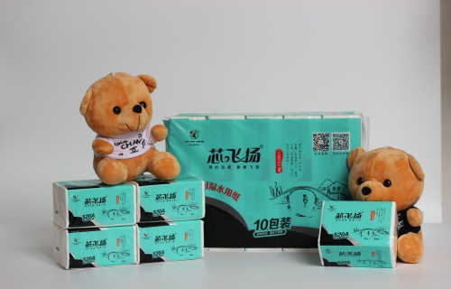 12010包/提江南印象纯木浆软抽纸