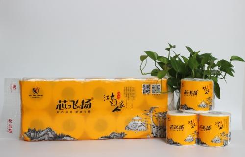 1200g芯飞扬-江南人家有芯有膜卷纸10卷