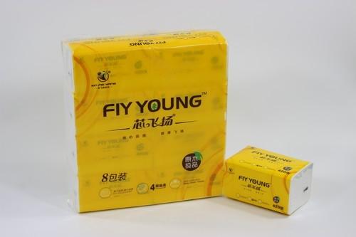 M号-8包/提芯飞扬纯木浆软抽纸