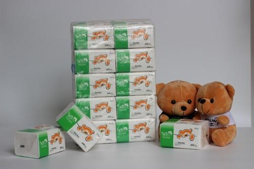 127-10包/提米雪宝宝熊软抽纸