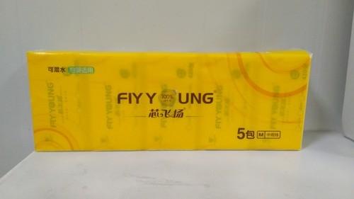 M号-5包芯飞扬纯木浆软抽纸