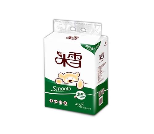 桂平600g米雪宝宝熊双层压花方包纸